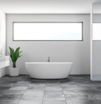 Comment poser le revêtement de sol d'une salle de bain?