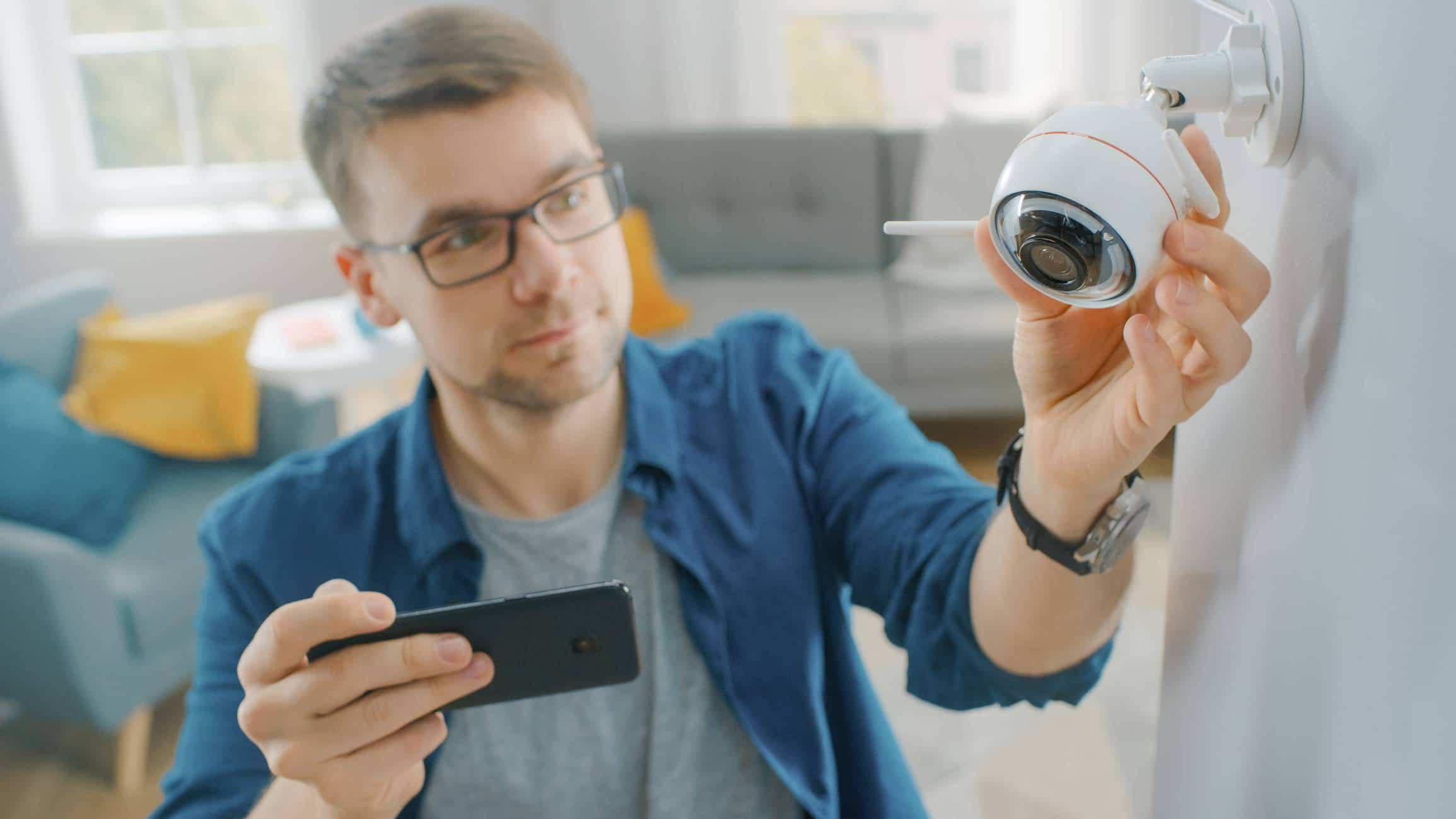 caméra surveillance à son domicile