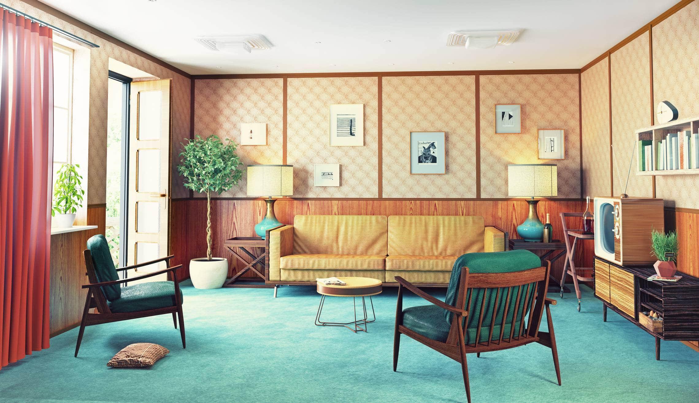décoration mobilier style vintage