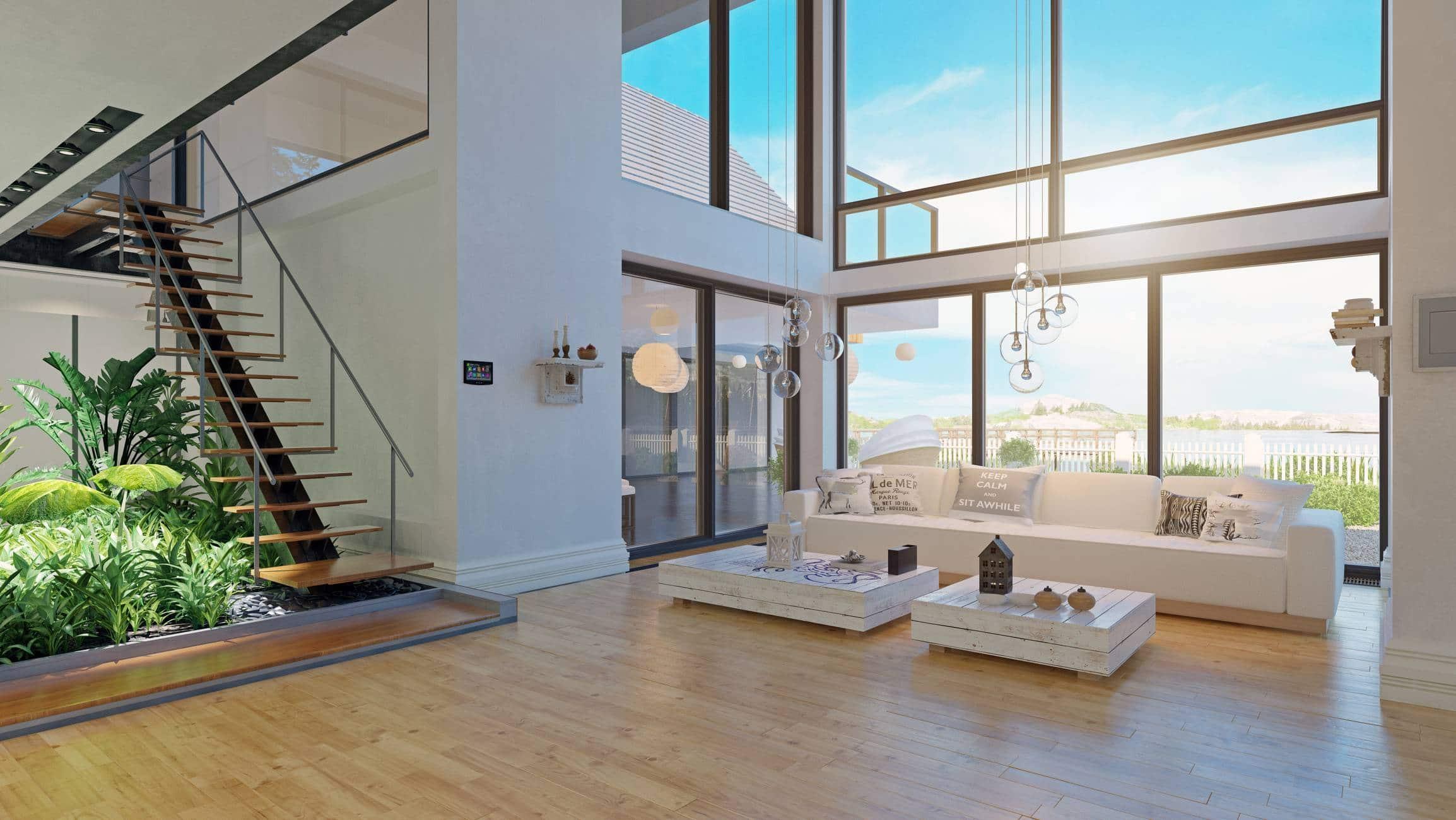 construction villa de luxe, côte d'azur